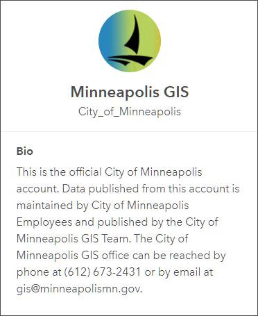 Minneapolis GIS profile