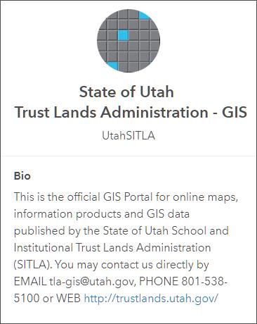 Utah SITLA profile