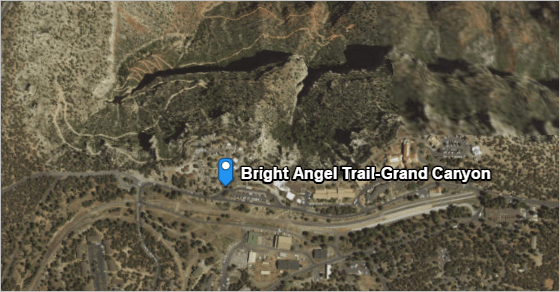Bright Angel Trail trailhead