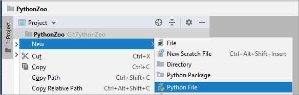 Create a new Python file
