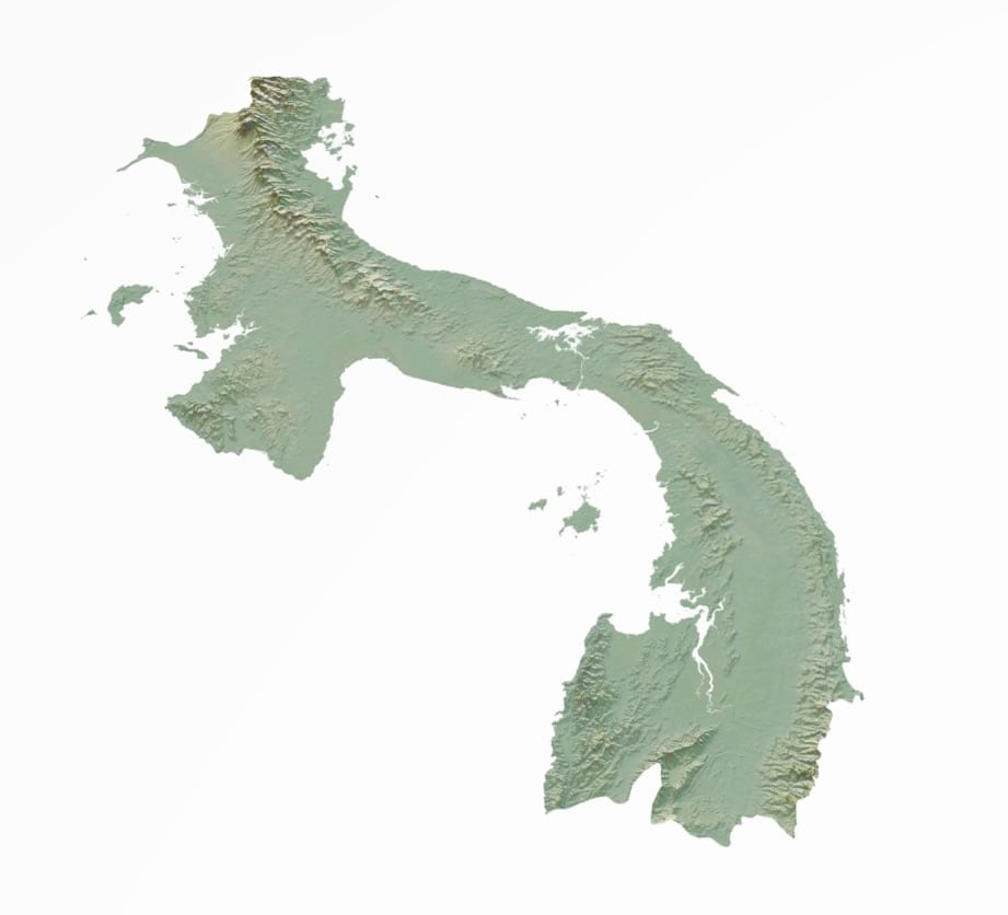 Making This Map of Panama