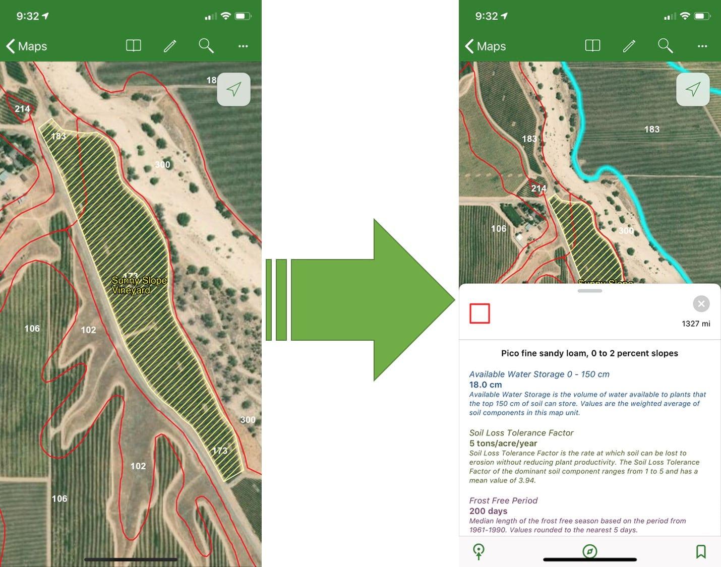 Use Living Atlas content to explore soils