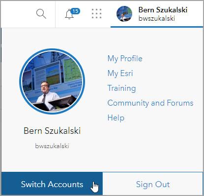 Switch Accounts