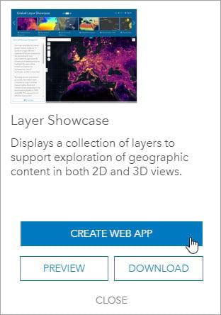 Create Web App