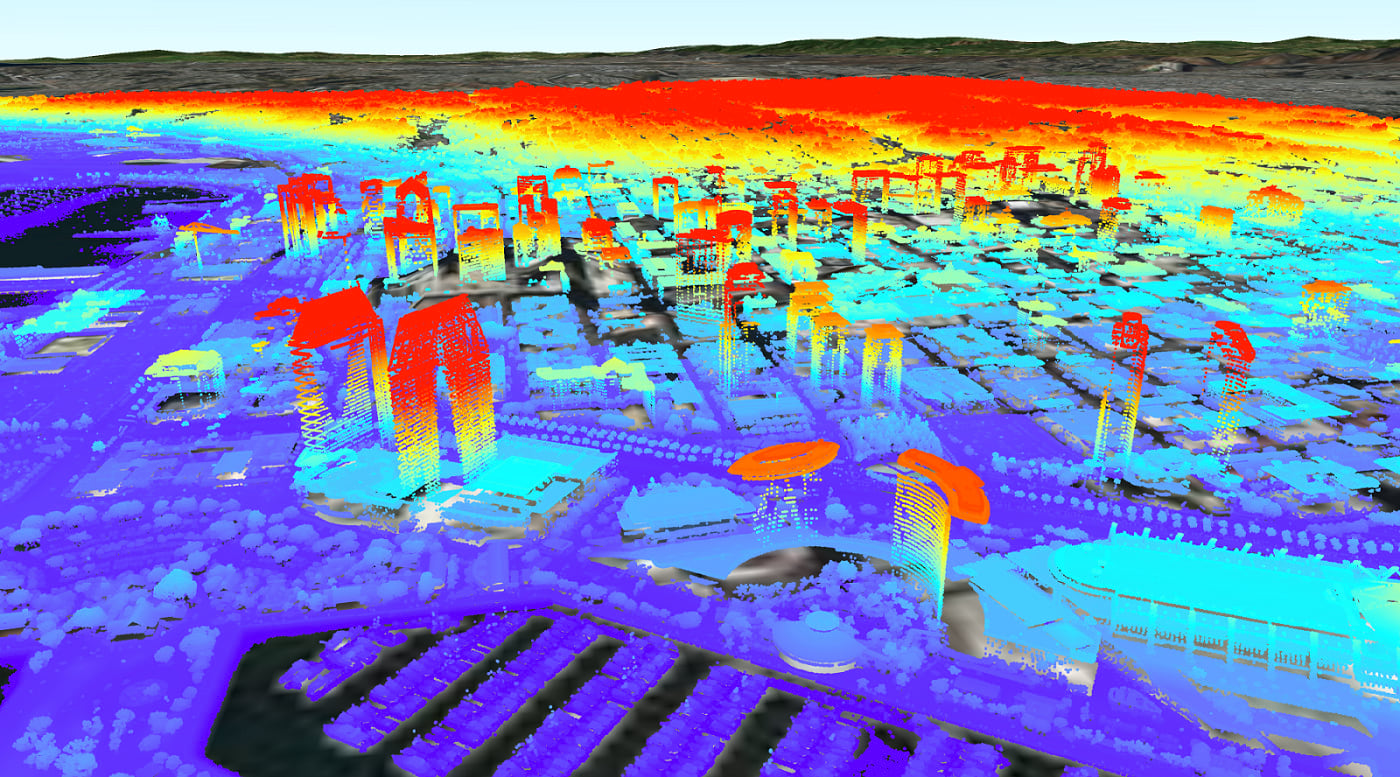 Point cloud scene layer in ArcGIS Runtime