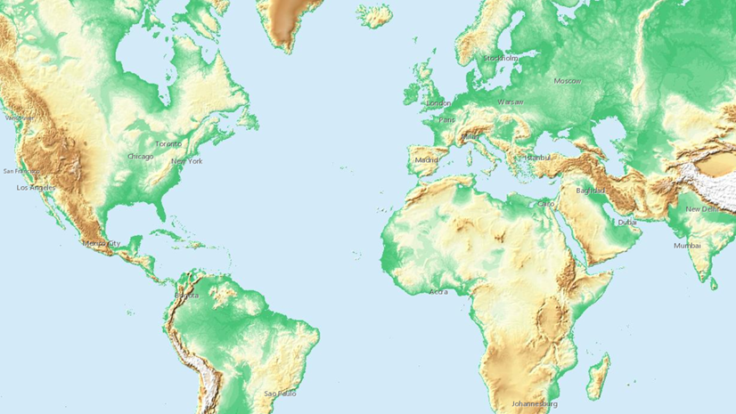 Elevation Map Of The World Updates to Living Atlas World Elevation Layers and Tools (April 2019)