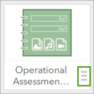 The Operational Assessment Survey icon.