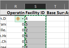 All Facility ID values are selected.