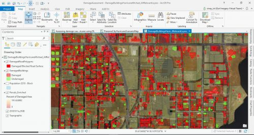 Damage assessment using deep learning