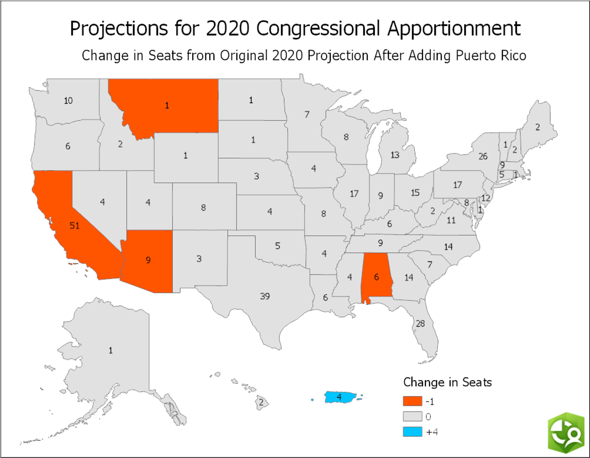 Reapportionment Projections and the Potential Impact of New ...