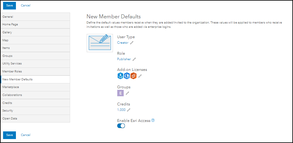 New Member Default page
