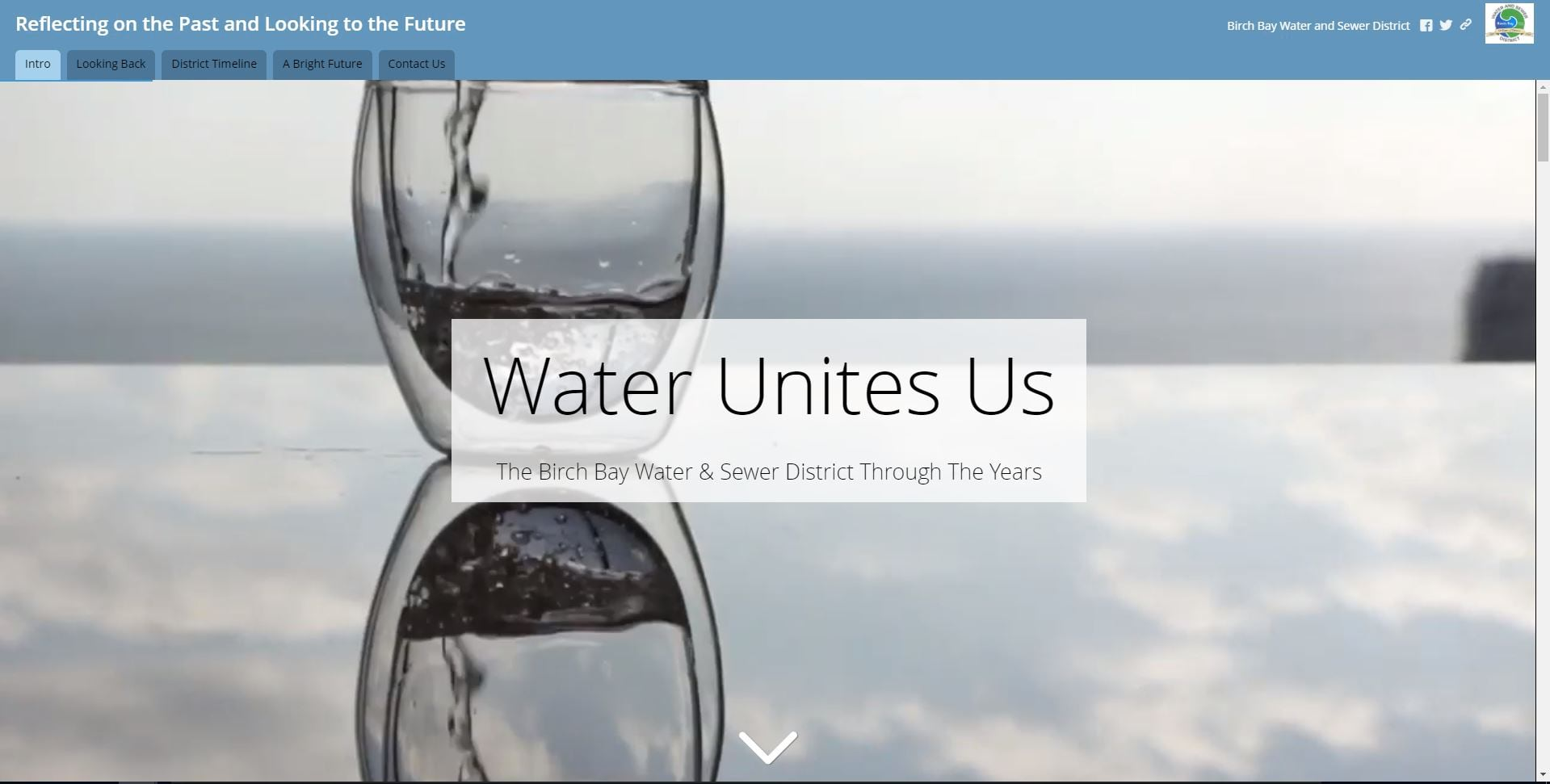 Cover of Amanda Huber's Water Unites Us story