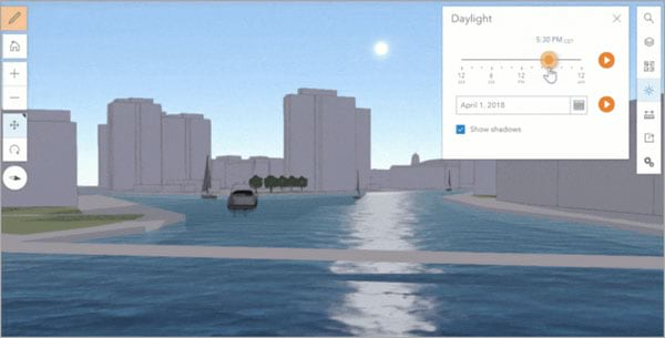 3D water effect