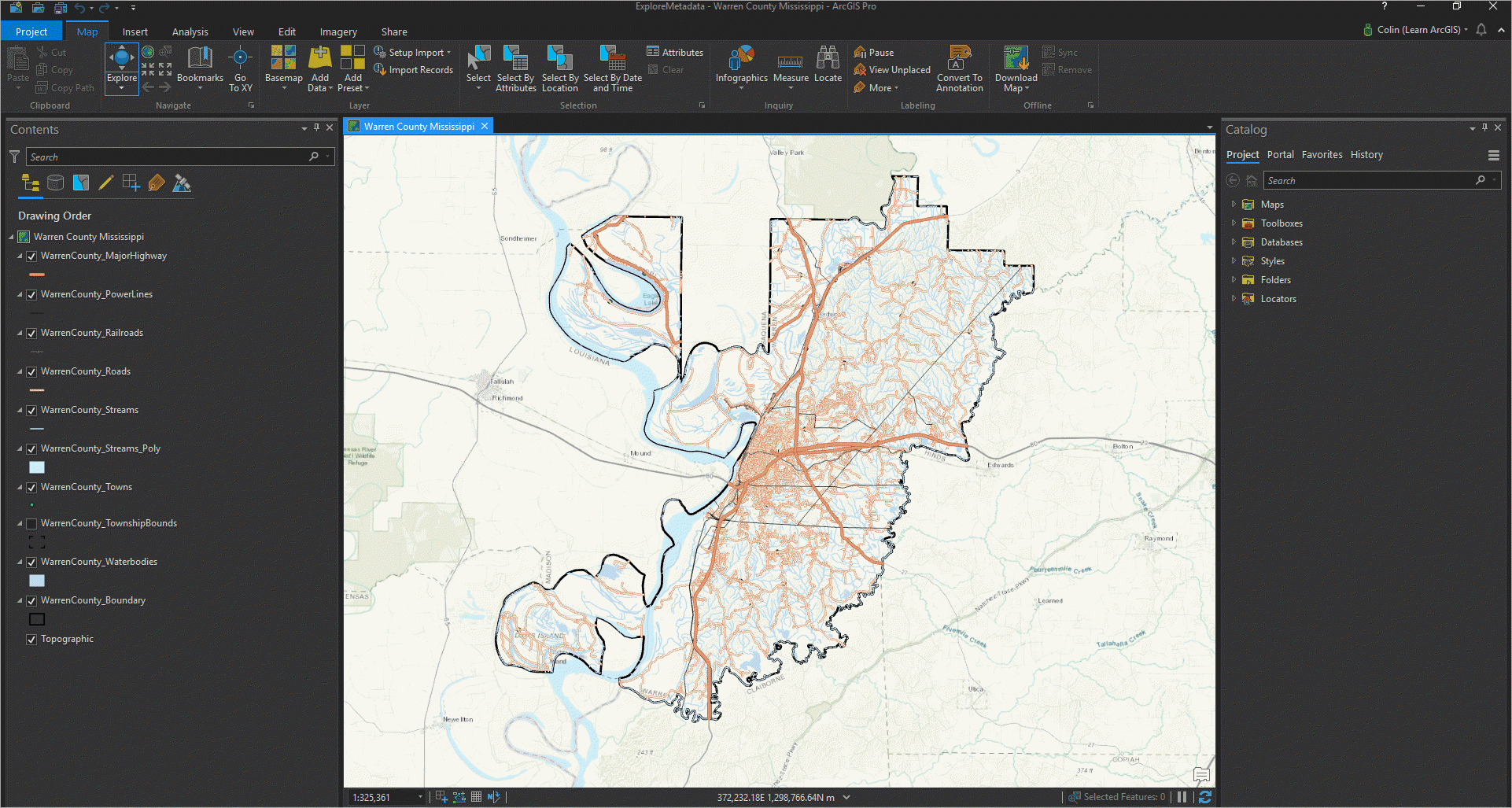 Create and Manage Metadata in ArcGIS Pro