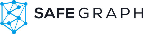 SafeGraph Places logo for the partnership with ArcGIS Business Analyst.