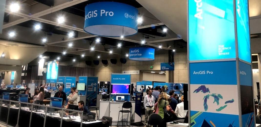 ArcGIS Pro Area in the Esri Showcase