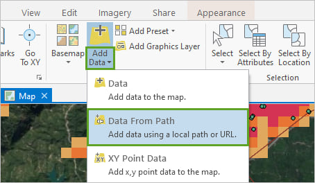 Data From Path in the the Add Data menu