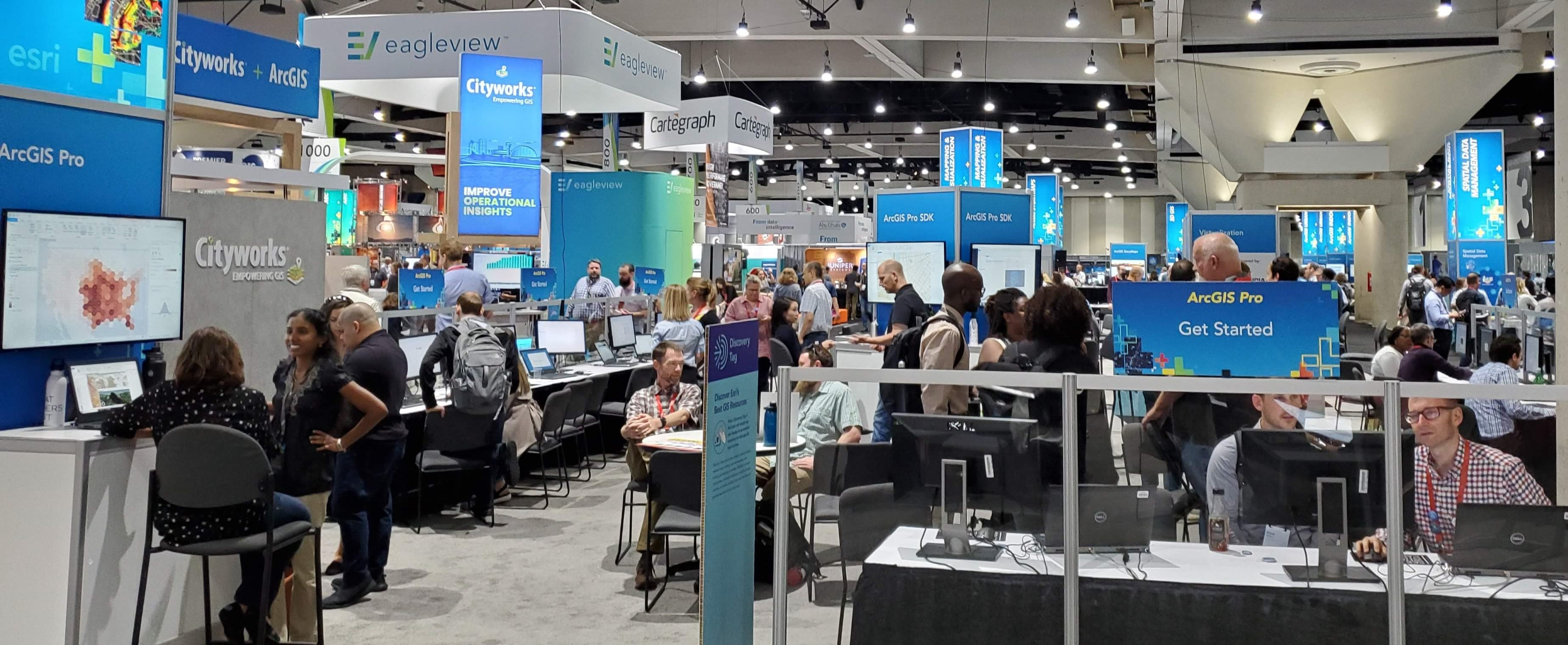 ArcGIS Pro Area at the 2019 Esri User Conference