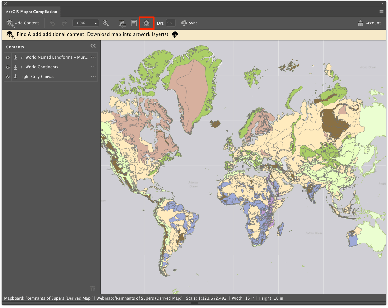 4 Quick Steps to Cartoon Maps with Maps for Adobe