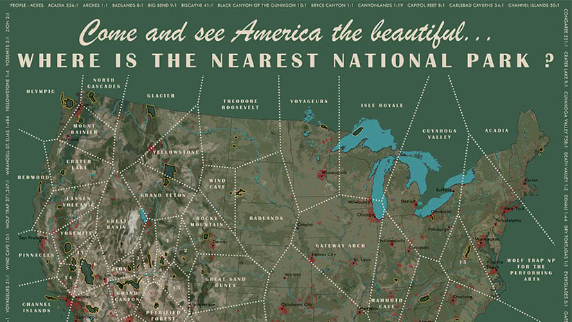 Where is the nearest National Park?