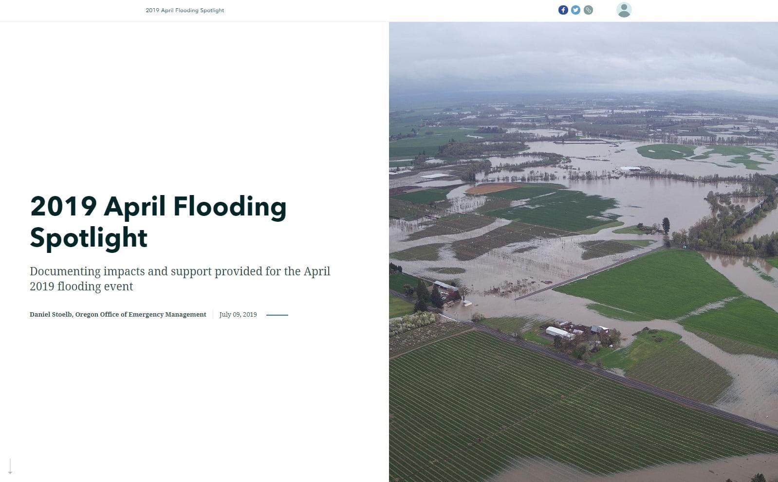 2019 April Flooding Spotlight