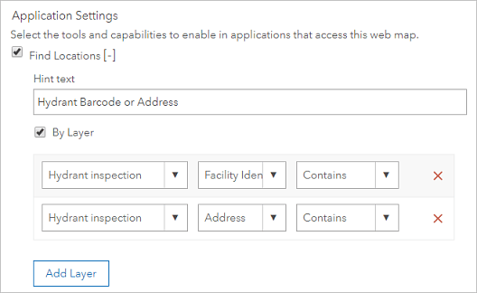 Configuration to search multiple fields