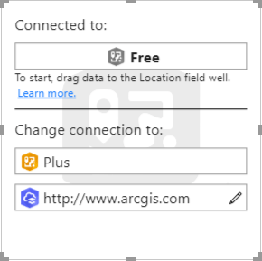 ArcGIS Maps for PowerBI - sign in options