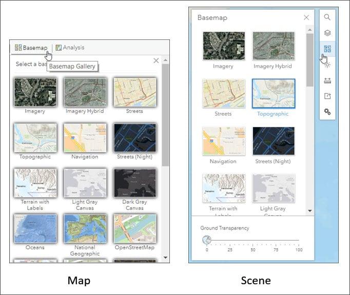 Basemap Gallery