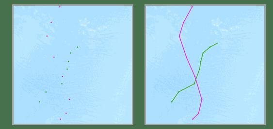 Reconstruct Tracks result