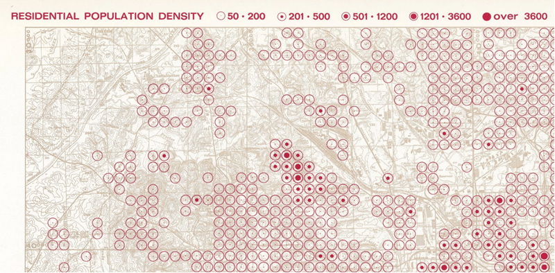 Wurman Dots: Learning from the '60s with a useful mapping style