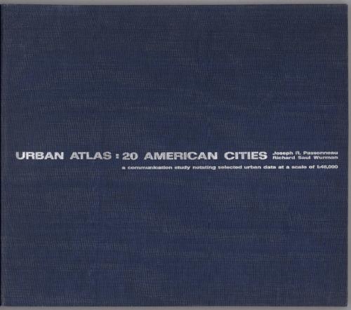 Urban Atlas book cover