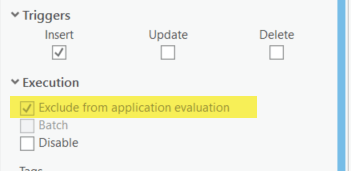 Exclude from application evaluation has to be turned on for any attribute rule that returns dictionary