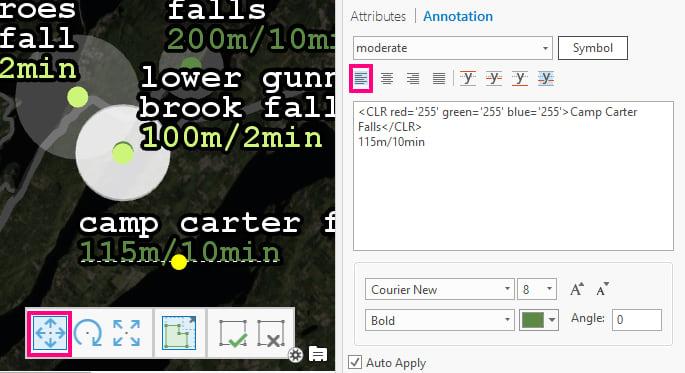 Edit annotation