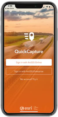 QuickCapture app sign in