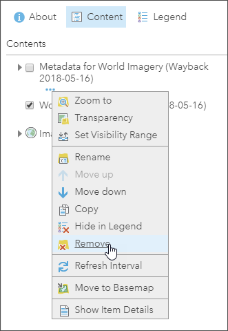 Remove metadata layer