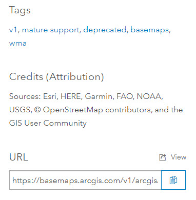 Tags and URL