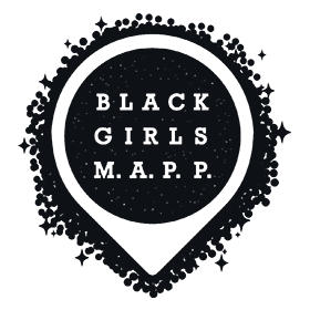 Black Girls MAPP logo, a group dedicated to bettering representation of women and minorities in GIS.