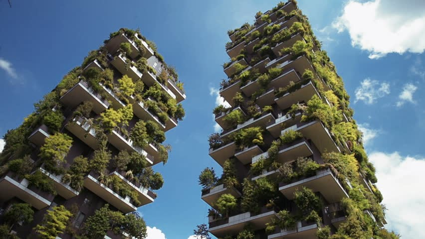 picture of Bosco Verticale buildings in Milan
