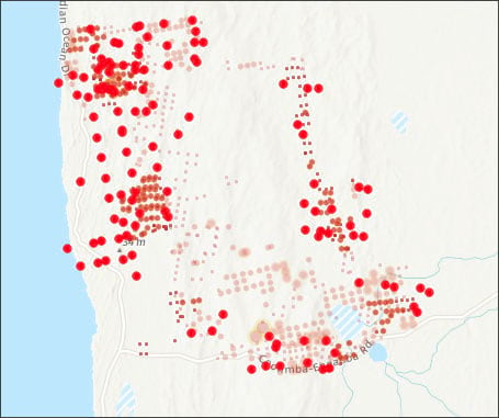 MODIS and VIIRS hotspots