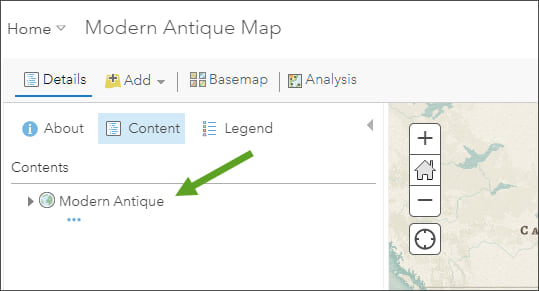Map Viewer Content