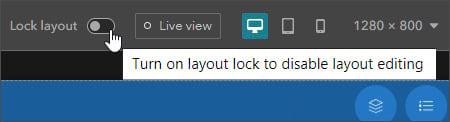 Layout lock