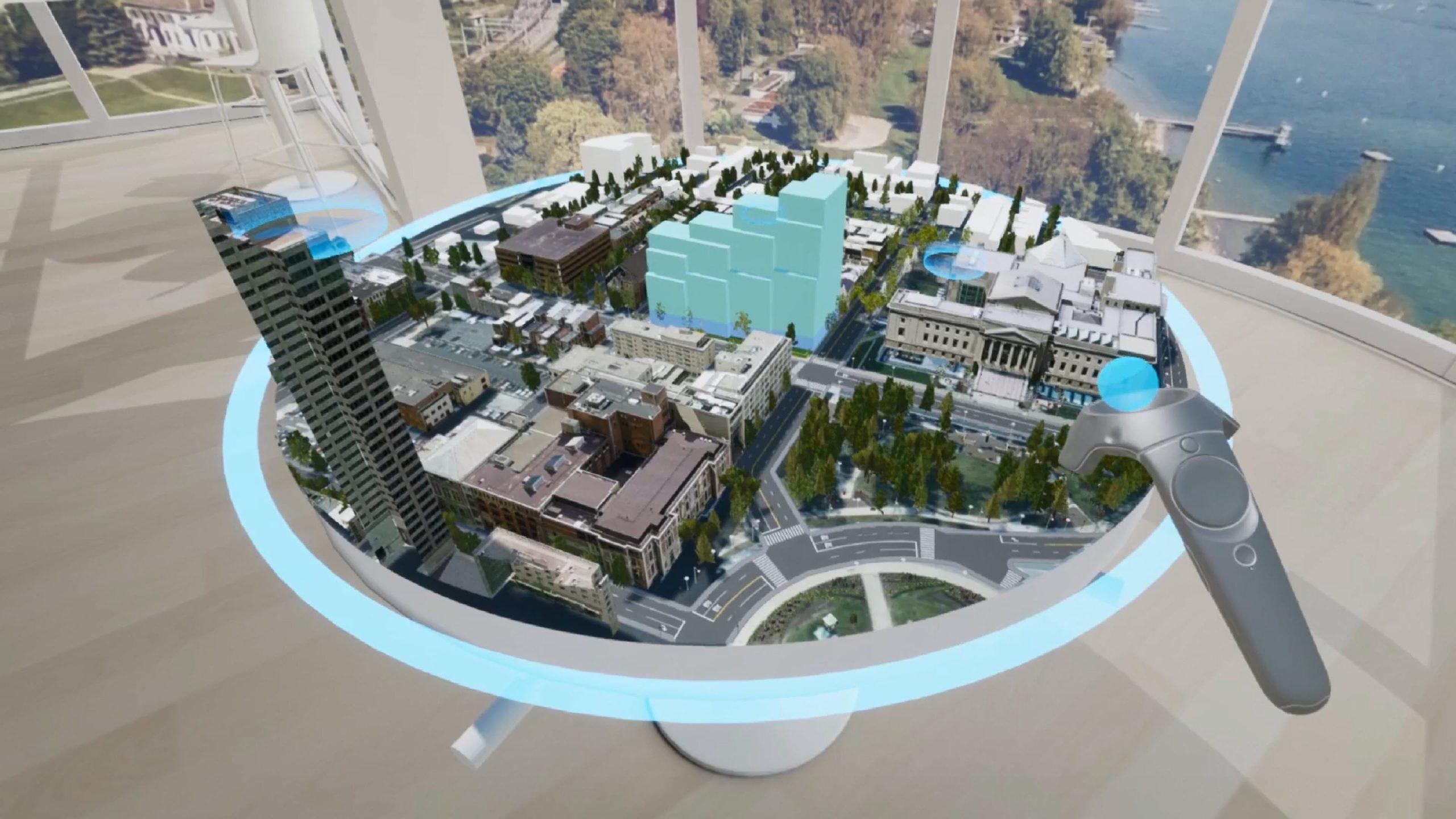 CityEngine VR Experience