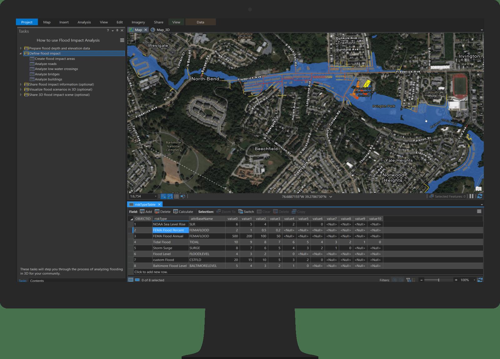Flood Impact Analysis