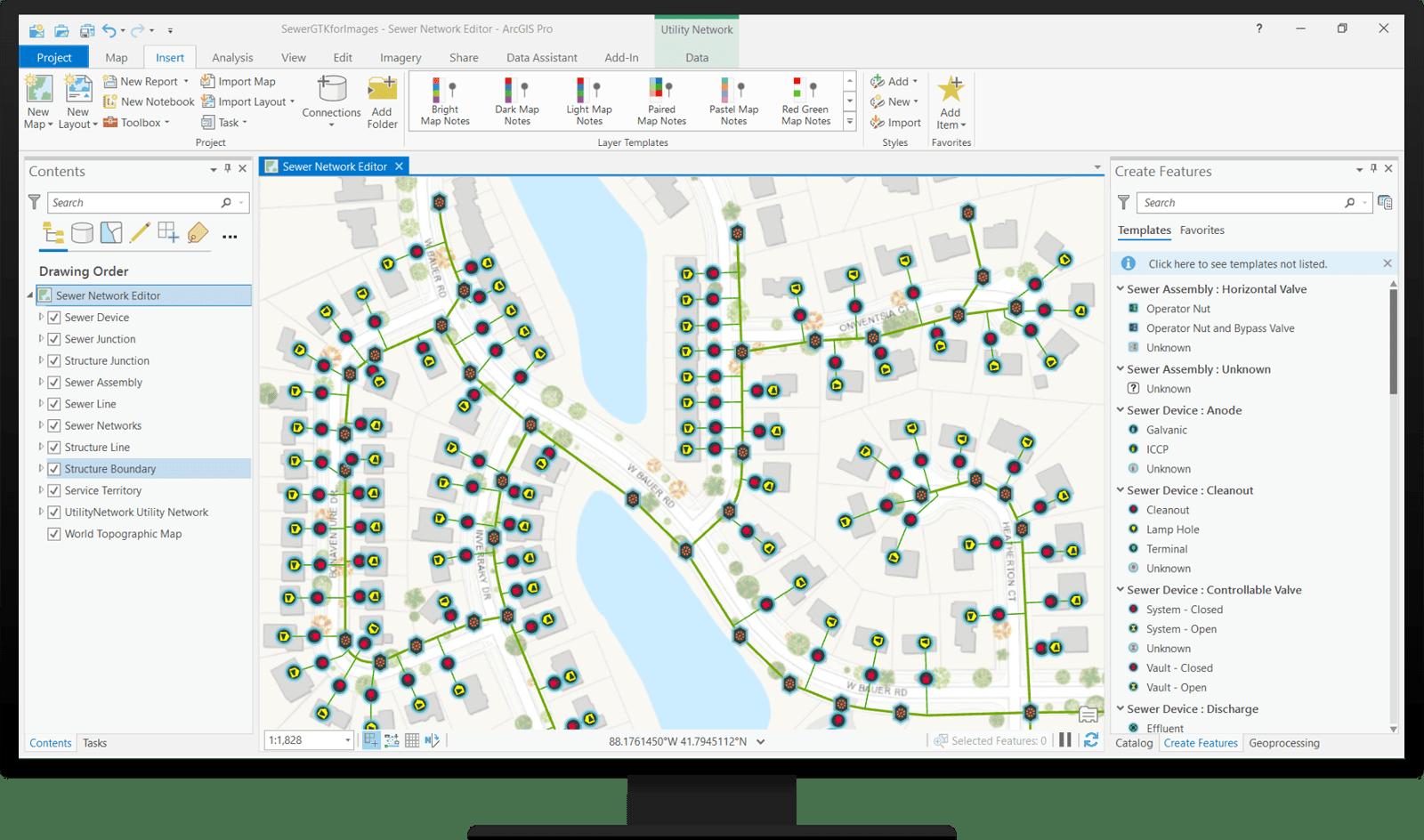 Sewer Editor Map
