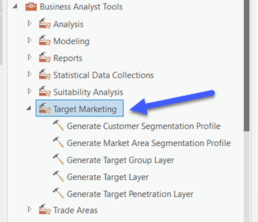 Target Marketing Toolset