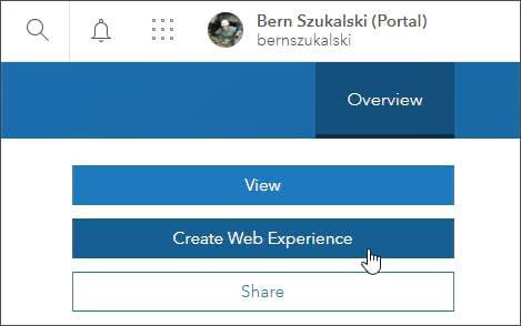 Create web experience