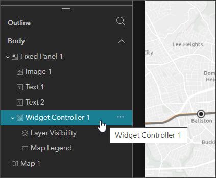Select widget controller
