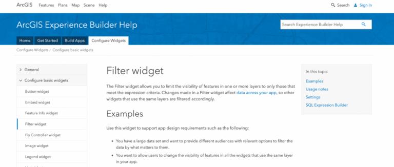 The Help website