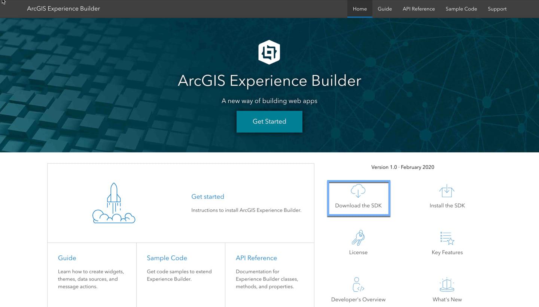 Developer Edition home page