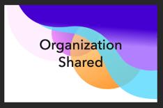 Organization shared theme
